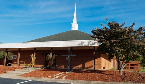 front view of Ebenezer UMC